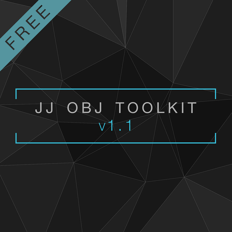 JJ OBJ Toolkit for Maya