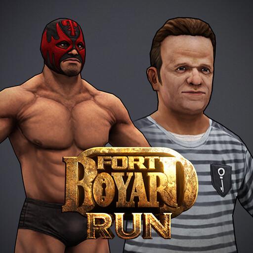 Fort Boyard Run - Characters