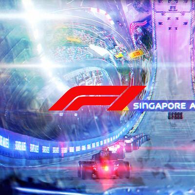 F1 key frames | Marina Bay Rain