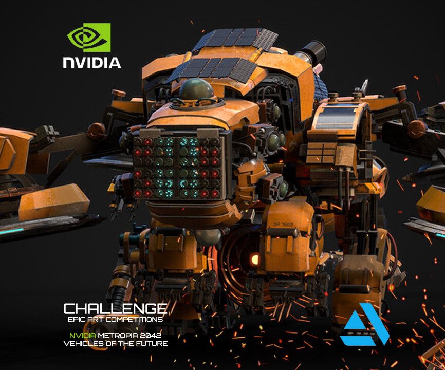 NVIDIA Metropia 2042 Vehicles of the Future W.T.N. Completed Submission