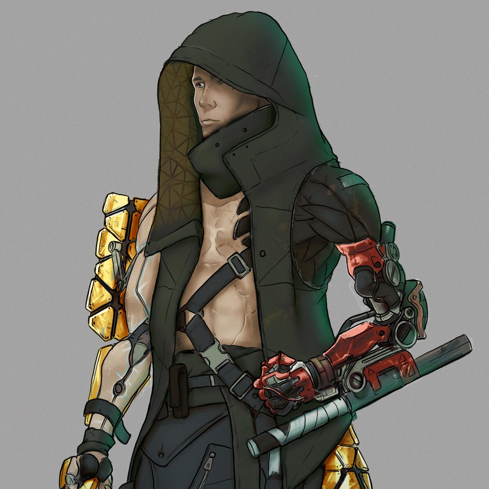 Deus Ex street samurai