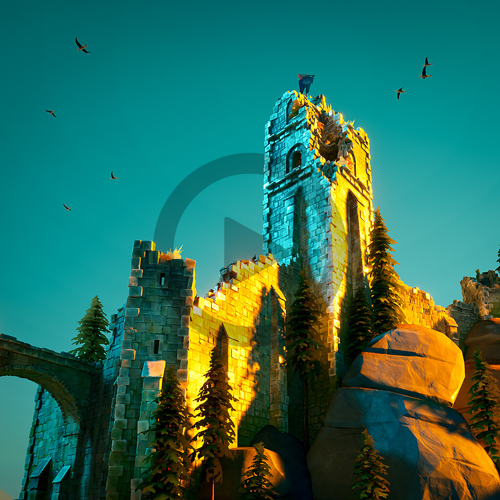 Bastei - Stylized Environment - Gnomon Workshop -Video