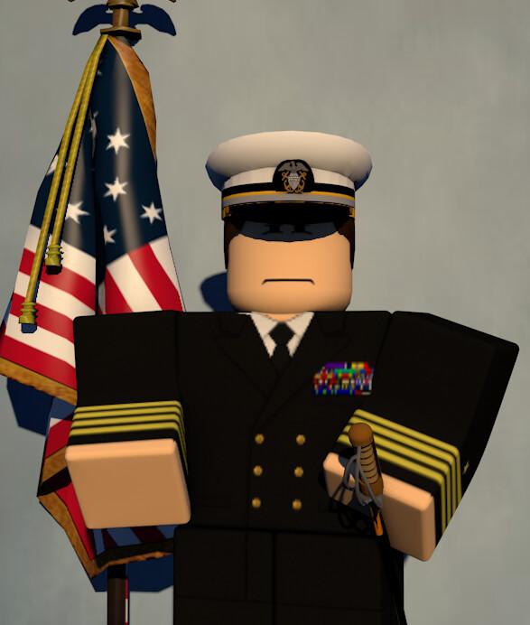 Artstation Usaf Roblox Officer Portrait Gfx Serverenabled