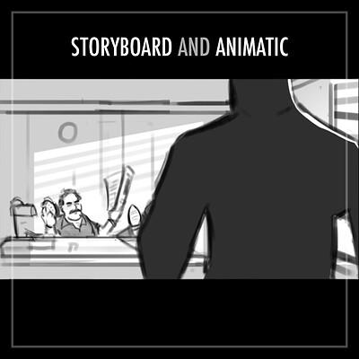 Arvydas brazdeikis storyboard animatic