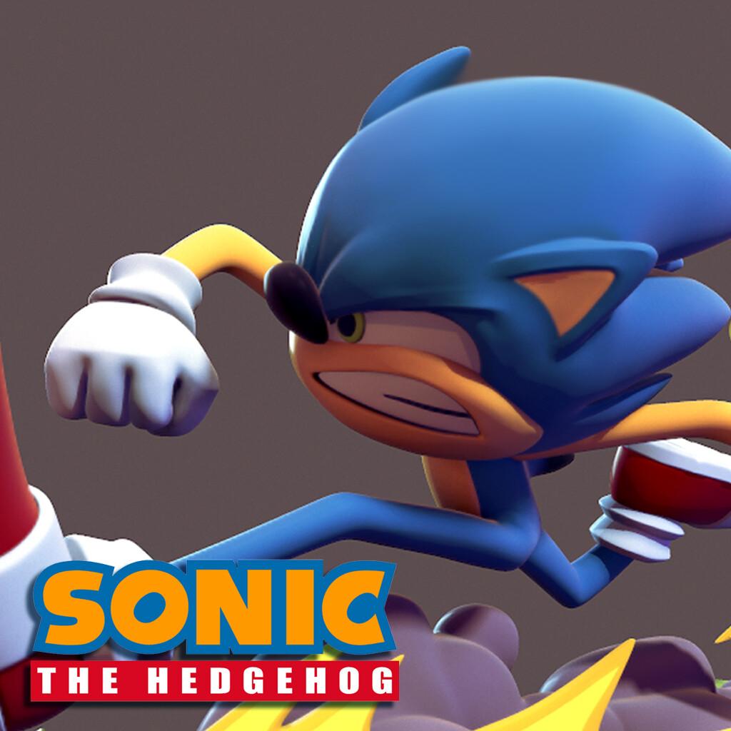 Artstation Sonic The Hedgehog Sam Beattie