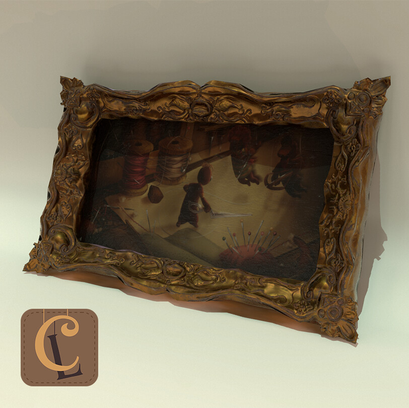 Cut Loose (Ubisoft Game Lab Competition 2019) - Painting Frame