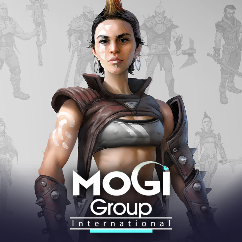 Postapocalyptic characters - Mogi Group