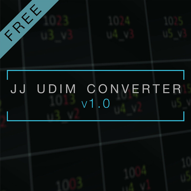 JJ UDIM Converter