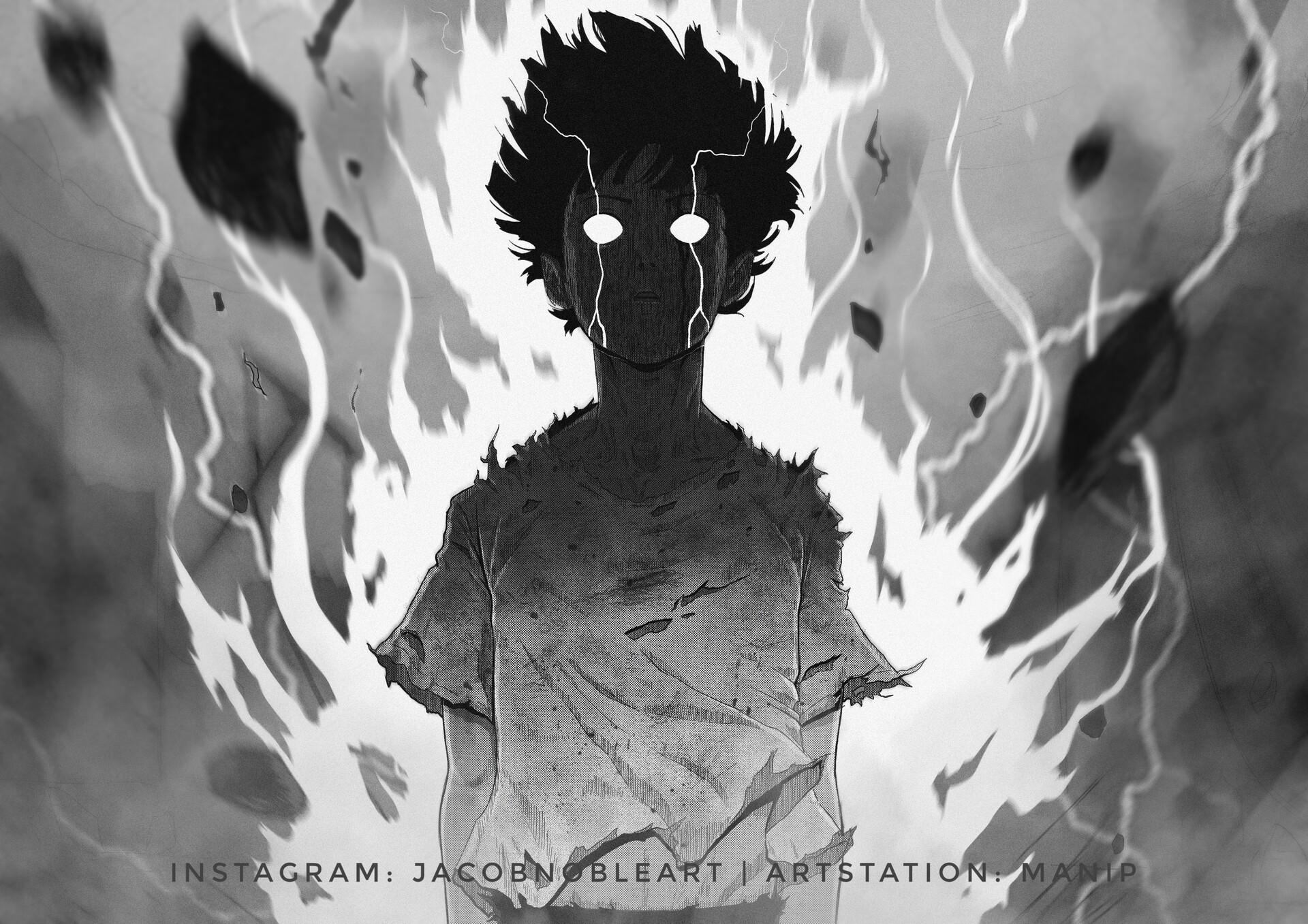 ArtStation - Mob Psycho, Jacob Noble