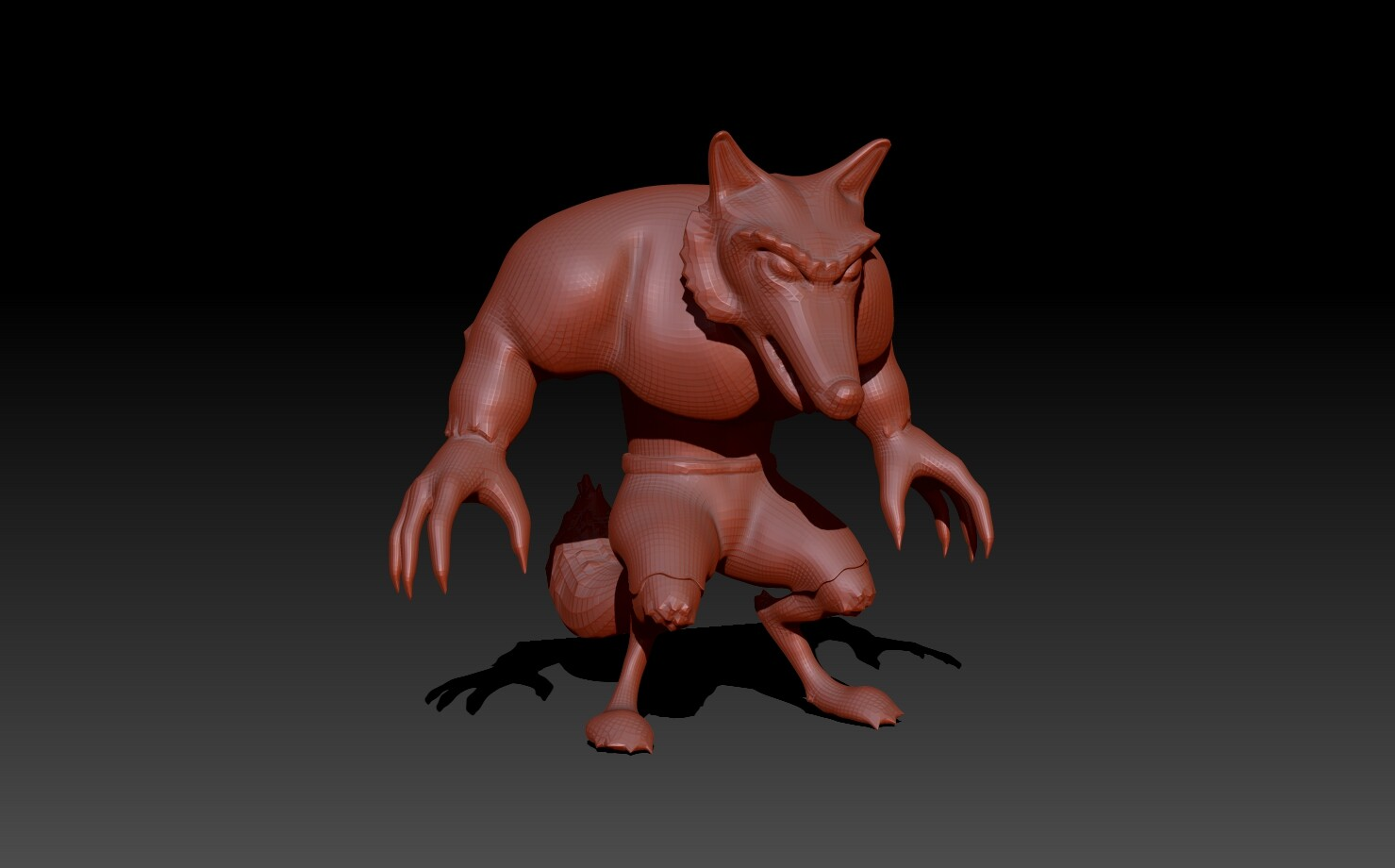 Wolf Character WIP