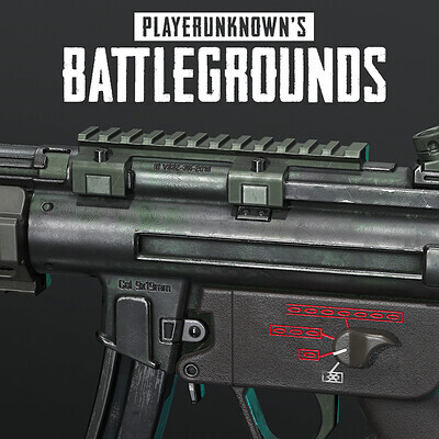 Playerunknown's Battlegrounds: MP5K