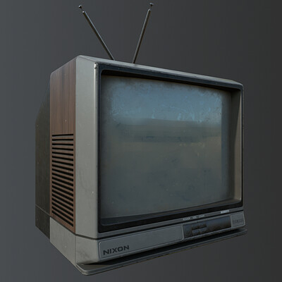 Retro TV  - game asset