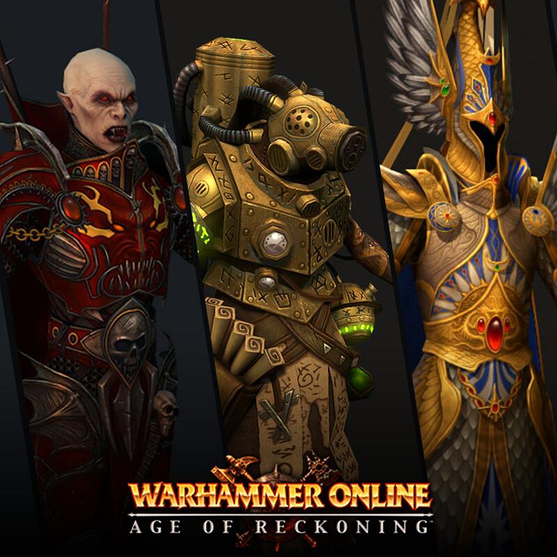 Warhammer Online Character Art