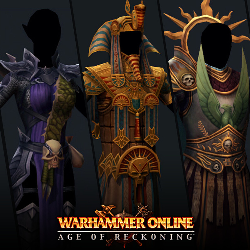 Warhammer Online Character Art (extra)