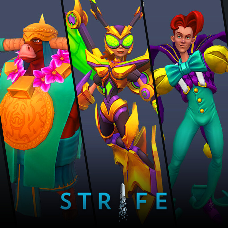 Strife (MOBA) - Heroes pt.2
