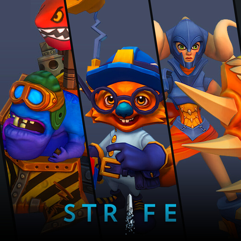 Strife (MOBA) - Heroes pt.3