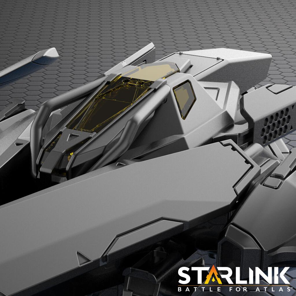 Starlink - Lance Starship
