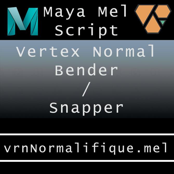 Maya Mel Script: vrnNormalifique