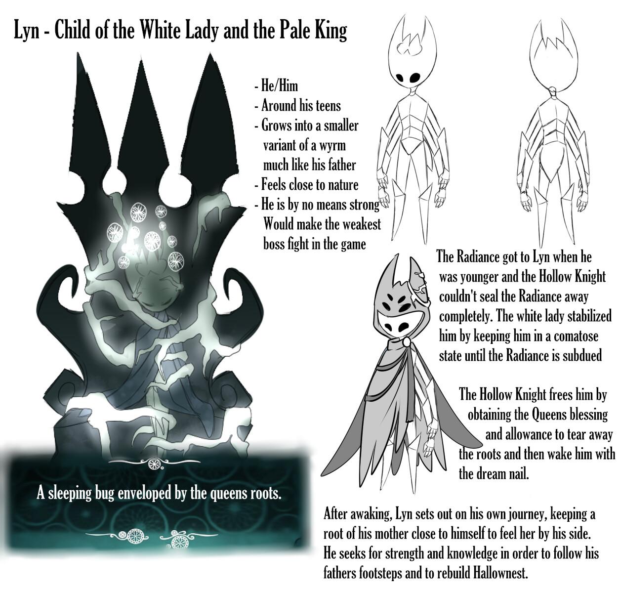 ArtStation - Hollow Knight Fan Character Concepts, Celine Zirkel