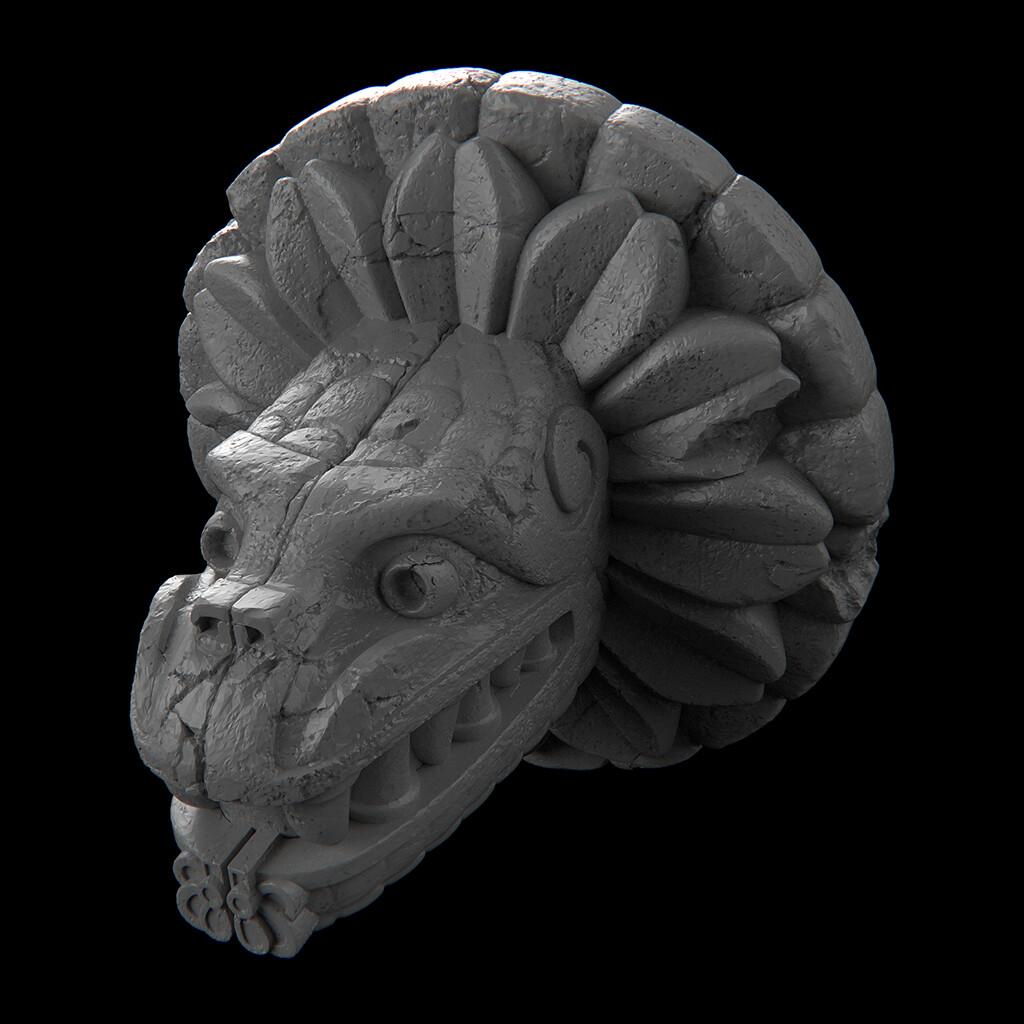 Aztec sculpts