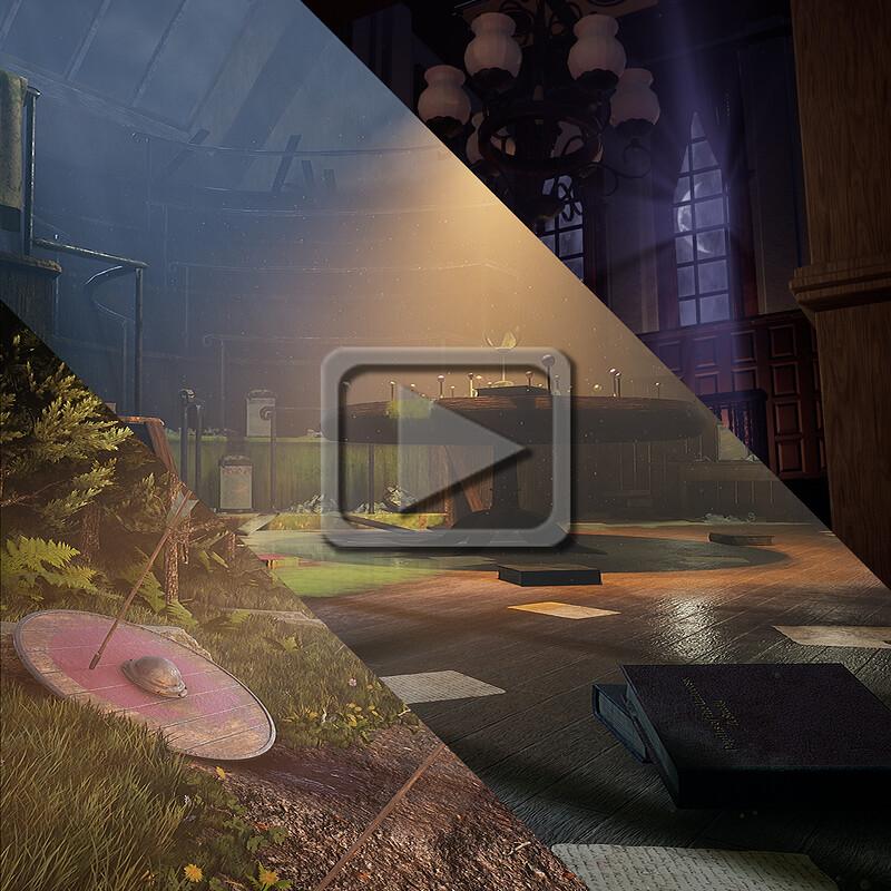 Durham College 2019 Game Development Demo Reel