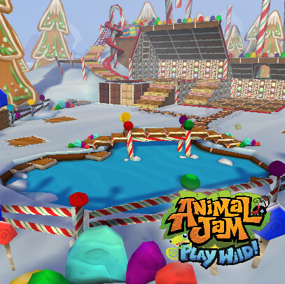 Animal Jam - Play Wild! - Gingerbread Den