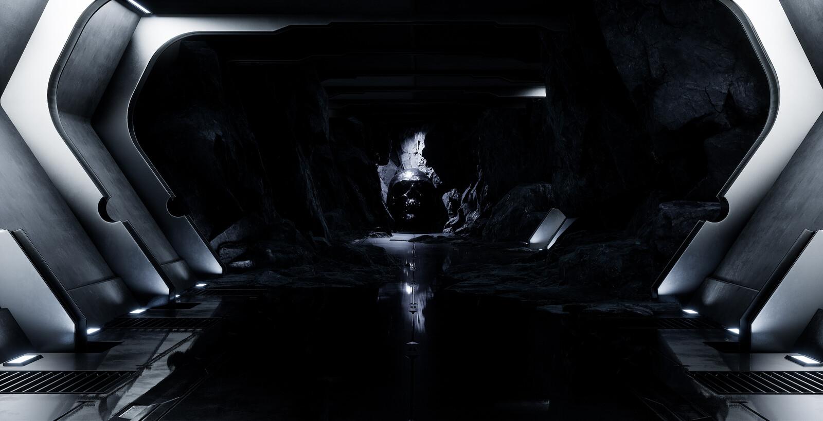 Skull Series #2: Underground Tunnel