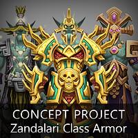 ArtStation - [Fan Art] World of Warcraft - Racial Class Armor Design