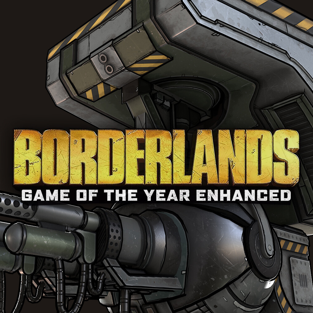 Borderlands: GOTY Enhanced - Turret