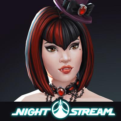 Wendy de boer roxy goth vamp icon