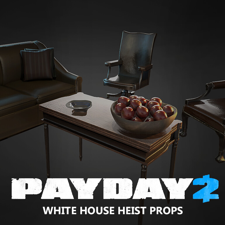 Payday 2 - Furniture Props
