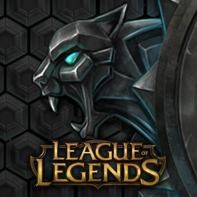 League of Legends UI Art