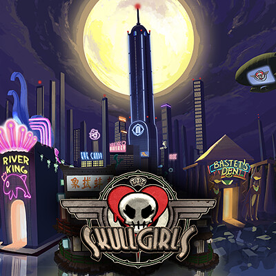 Skullgirls Mobile Ui Map