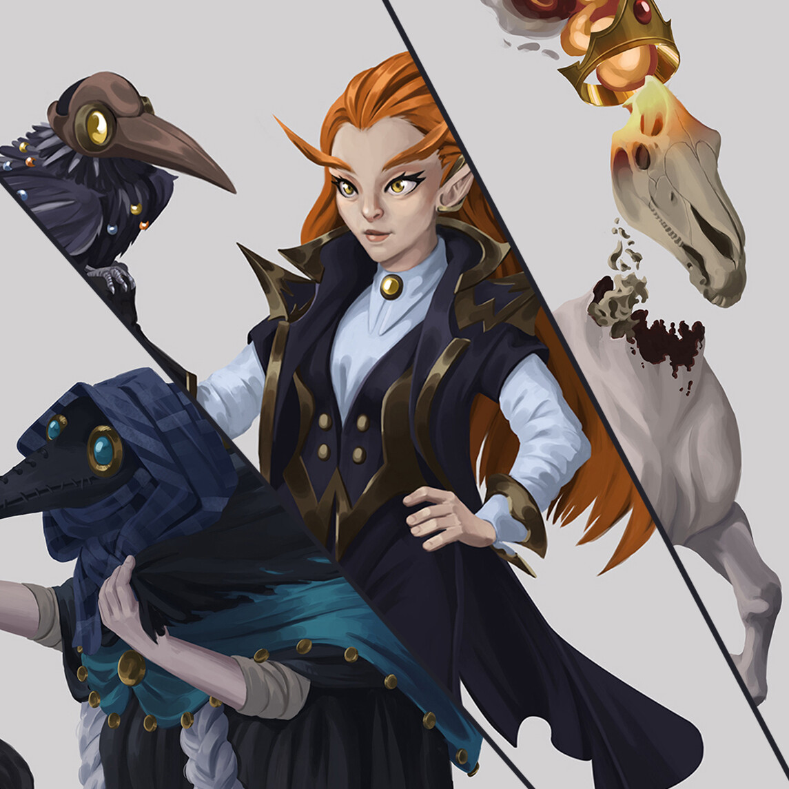 Concordance of Rivals - Characters