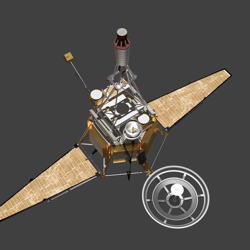 Ranger, and Luna Series Satellites