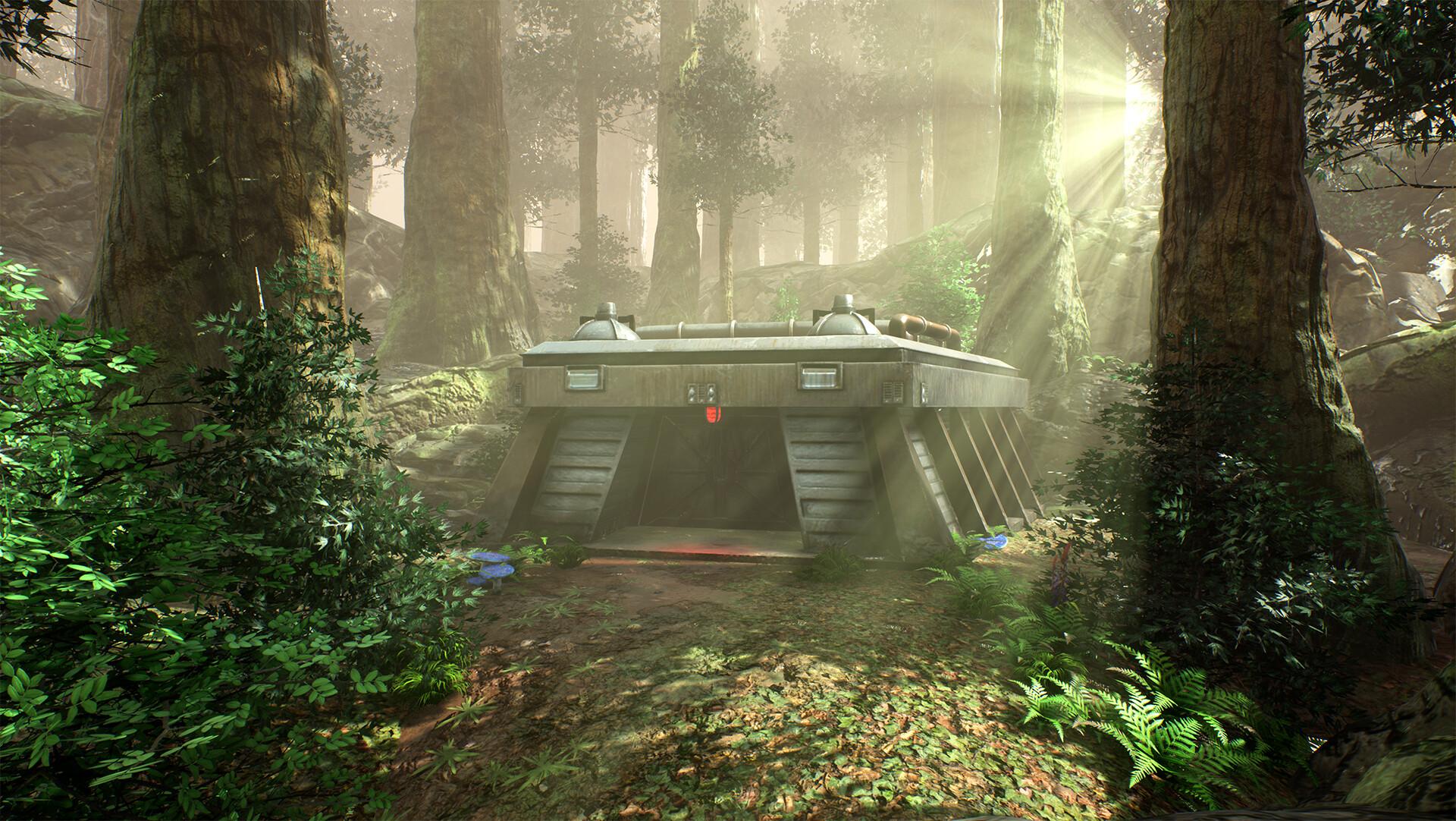 Simon Edwards Endor Star Wars Fan Art