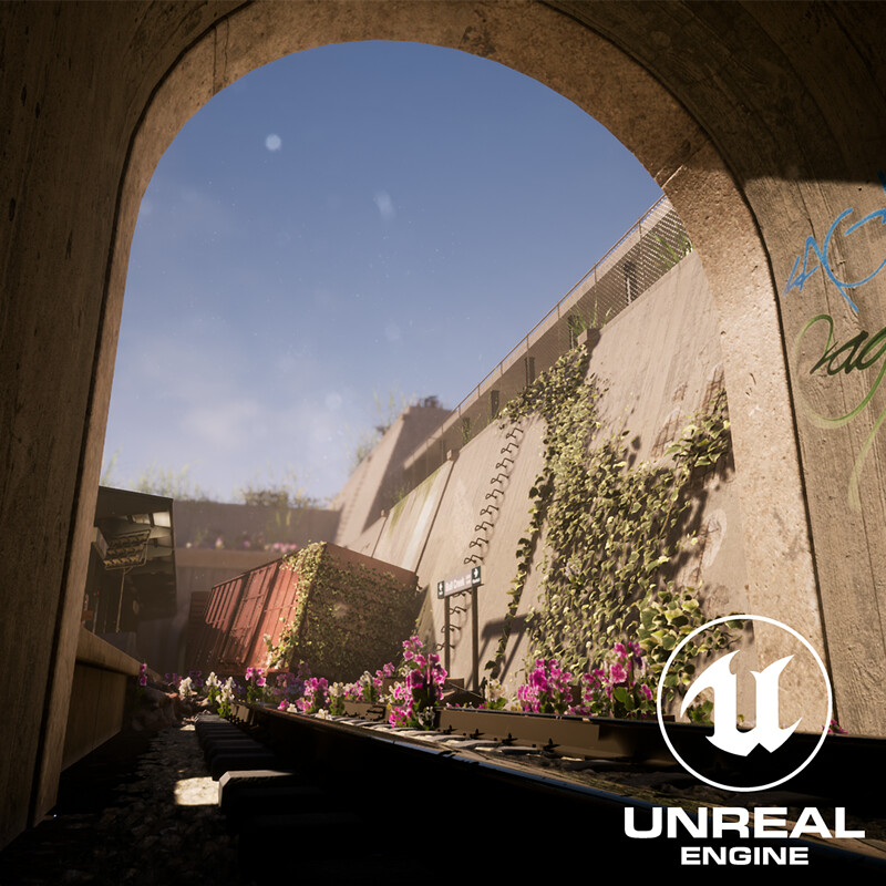 The Forgotten Station - UE4