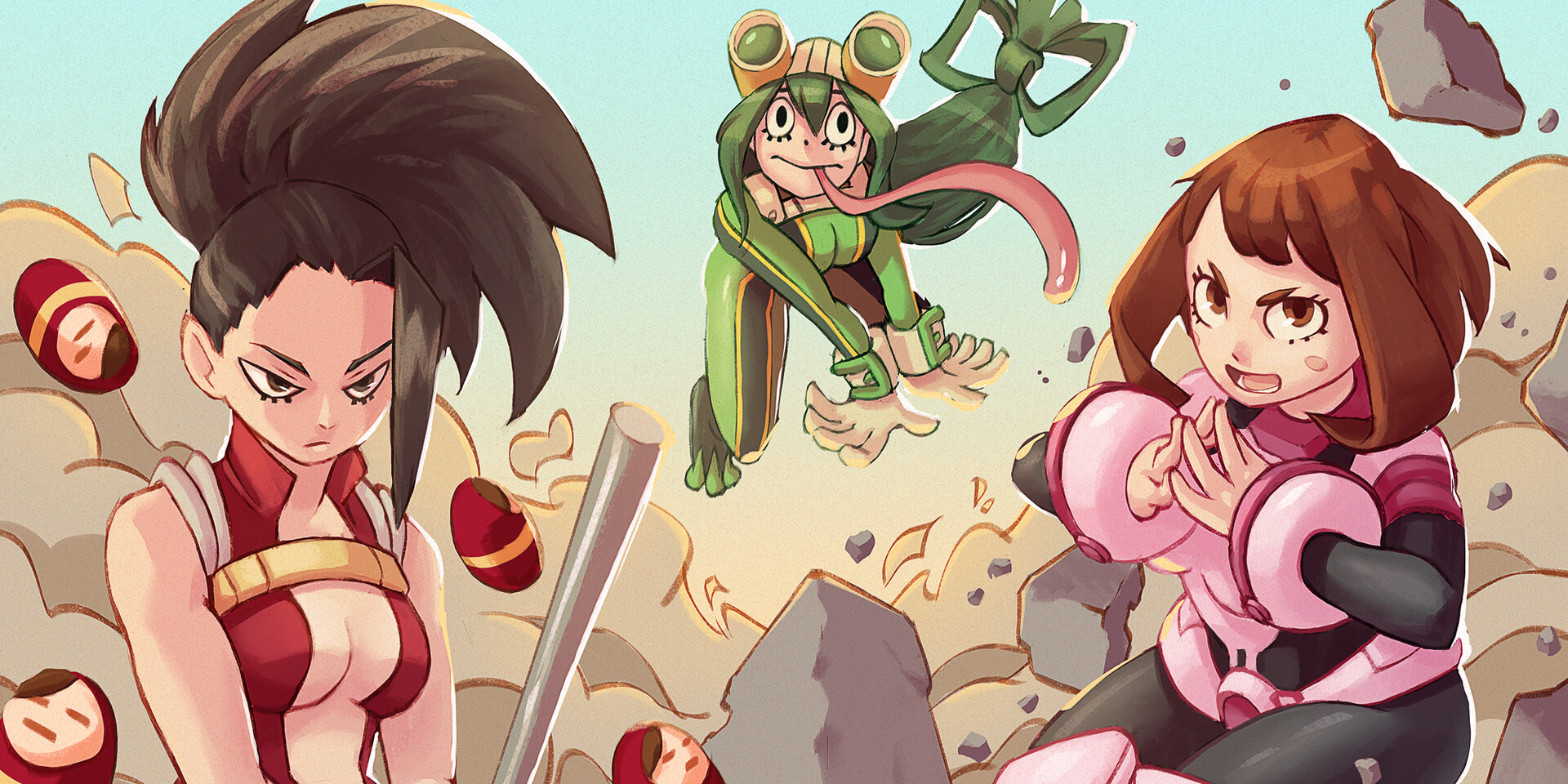 Boku No Hero - Girlies Edition