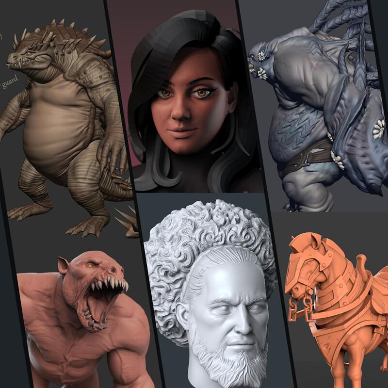Various Sculpts