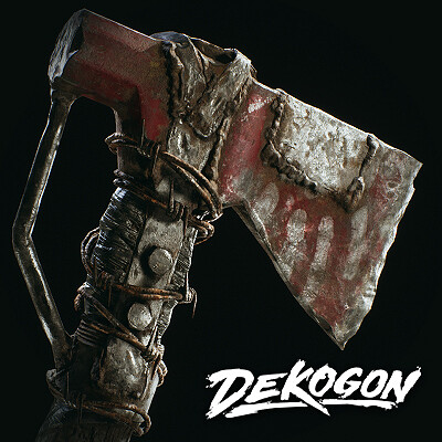 Dekogon - Post Apocalyptic Axe