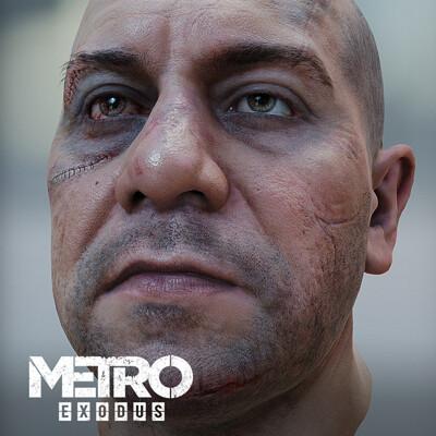 Oleg koreyba oleg koreyba metro exodus bandit hex 4a games icon