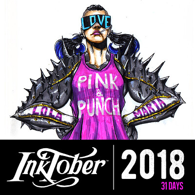 Josh matts inktober2018