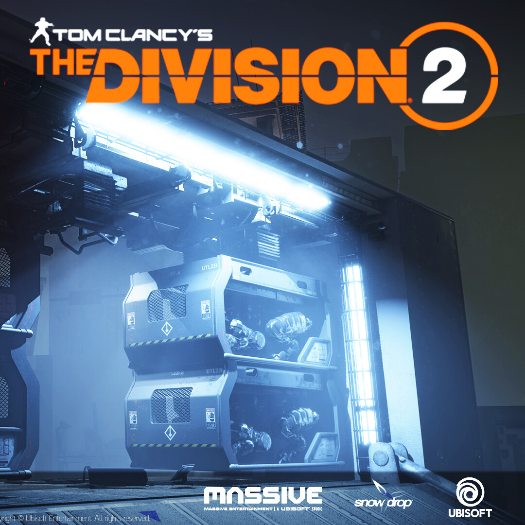Tom Clancy's Division 2 Props