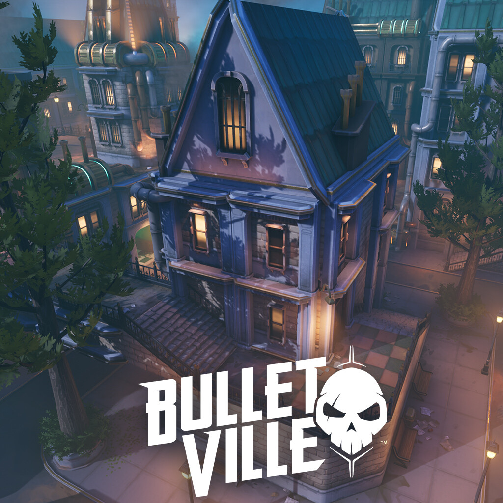 BulletVille - Victorian Steampunk Map