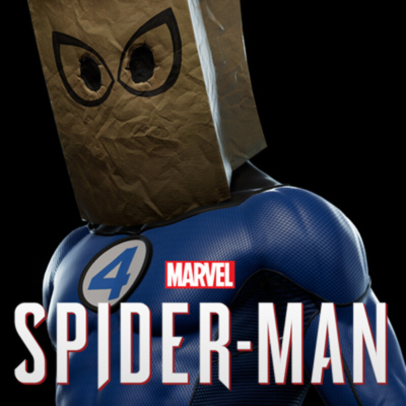 Marvel's Spider-Man Bombastic Bag-Man