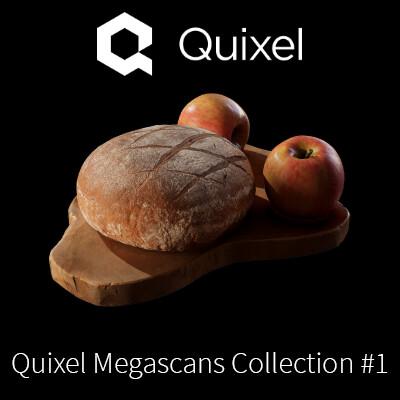 Quixel Megascans 3D Assets Collection #1