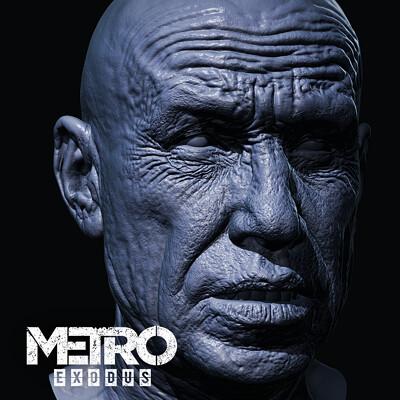 Oleg koreyba oleg koreyba krest hex metro exodus zbrush icon 02