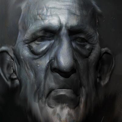 Yarrid henrard yarrid henrard sketch face old