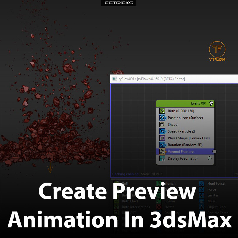 ArtStation - How To Create Preview Animation In 3dsMax, CG Tricks
