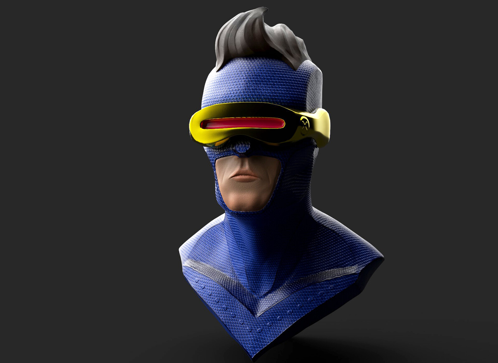 Cyclops Bust Sculpting